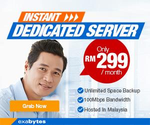 Instant Dedicated Server