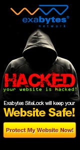 Exabytes SiteLock